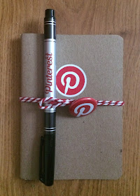 pinterest book and pen