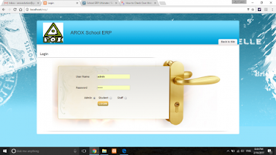 School Management ERP (PHP)