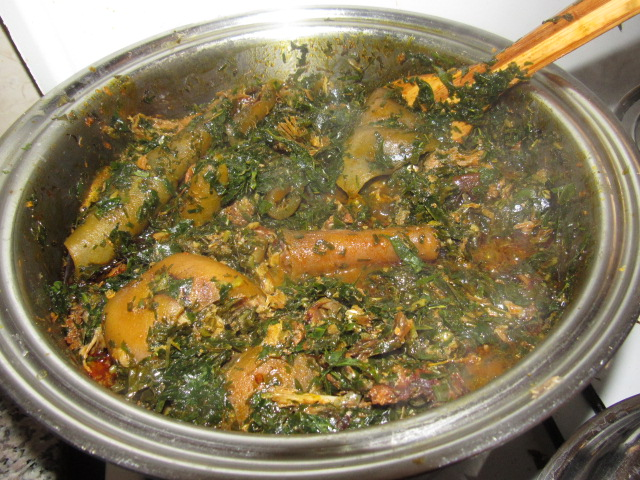 pot of afang soup