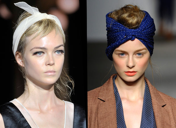hair style with scarf the swell sunflower 2012 fashion update the headscarf 3994