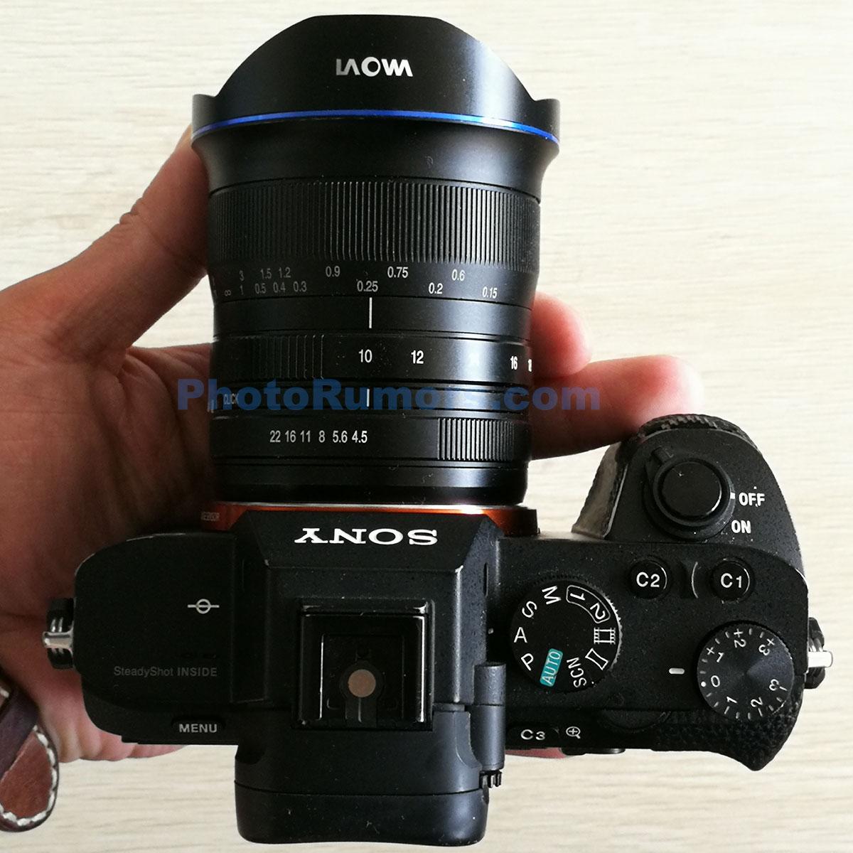 Laowa 10-18mm f/3.5-4.5 на камере Sony