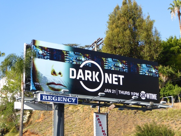 Dark Net series premiere billboard