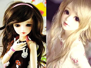 large eyes dolls