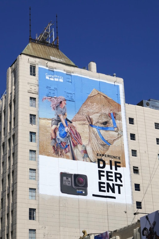 GoPro Experience different billboard