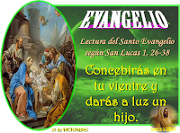 Resultado de imagen para En aquel tiempo, el ángel Gabriel fue enviado por Dios a una ciudad de Galilea llamada Nazaret,