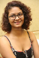 Actress Aditi Myakal Looks gorgeous in Sleeveless Deep Neck Top at Ami Tumi success meet ~  Exclusive 057.JPG