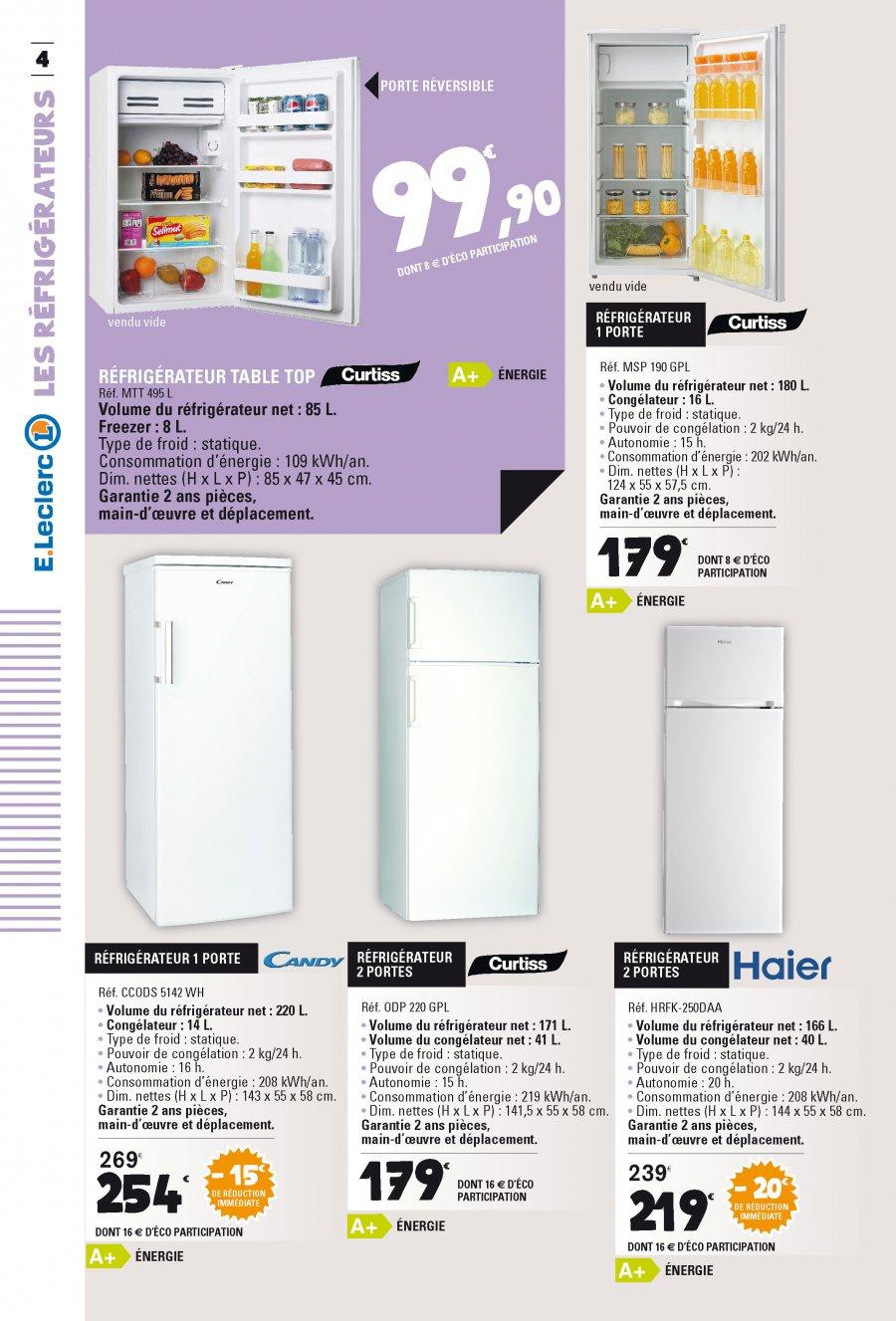 congelateur leclerc passez par le traiteur eleclerc pour vos vnements with congelateur leclerc. Black Bedroom Furniture Sets. Home Design Ideas