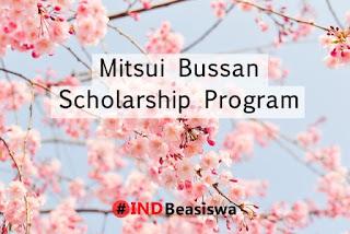 beasiswa jepang mitsui bussan scholarships