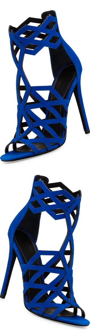 Kendall + Kylie Elena Strappy Cutout Sandal