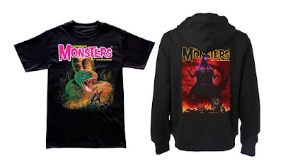 San Diego Comic-Con 2017 Exclusive Famous Monsters of Filmland Land of the Giants T-Shirt & Shin Godzilla Hoodie