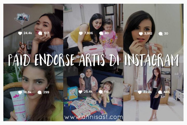 cara endorse artis di instagram