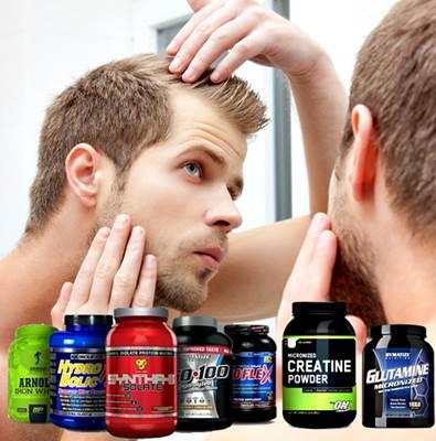 Batidos de proteína que pueden causar pérdida de cabello