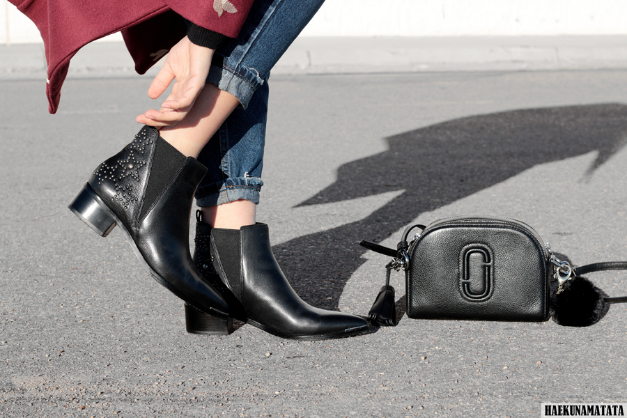 Marc Jacobs Shutter Bag and Marc Fisher Yalyn Star Boots