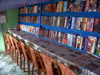 Bipal Rasaily started Home Library at Munsong
