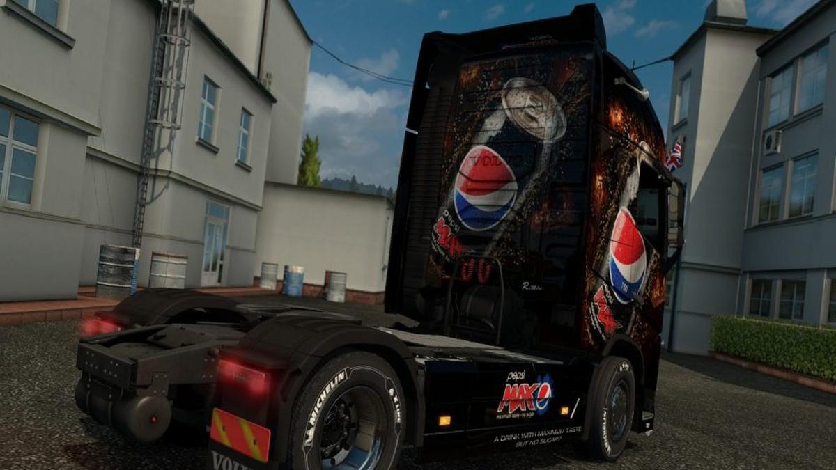 Pepsi Max Skin for Volvo 2012