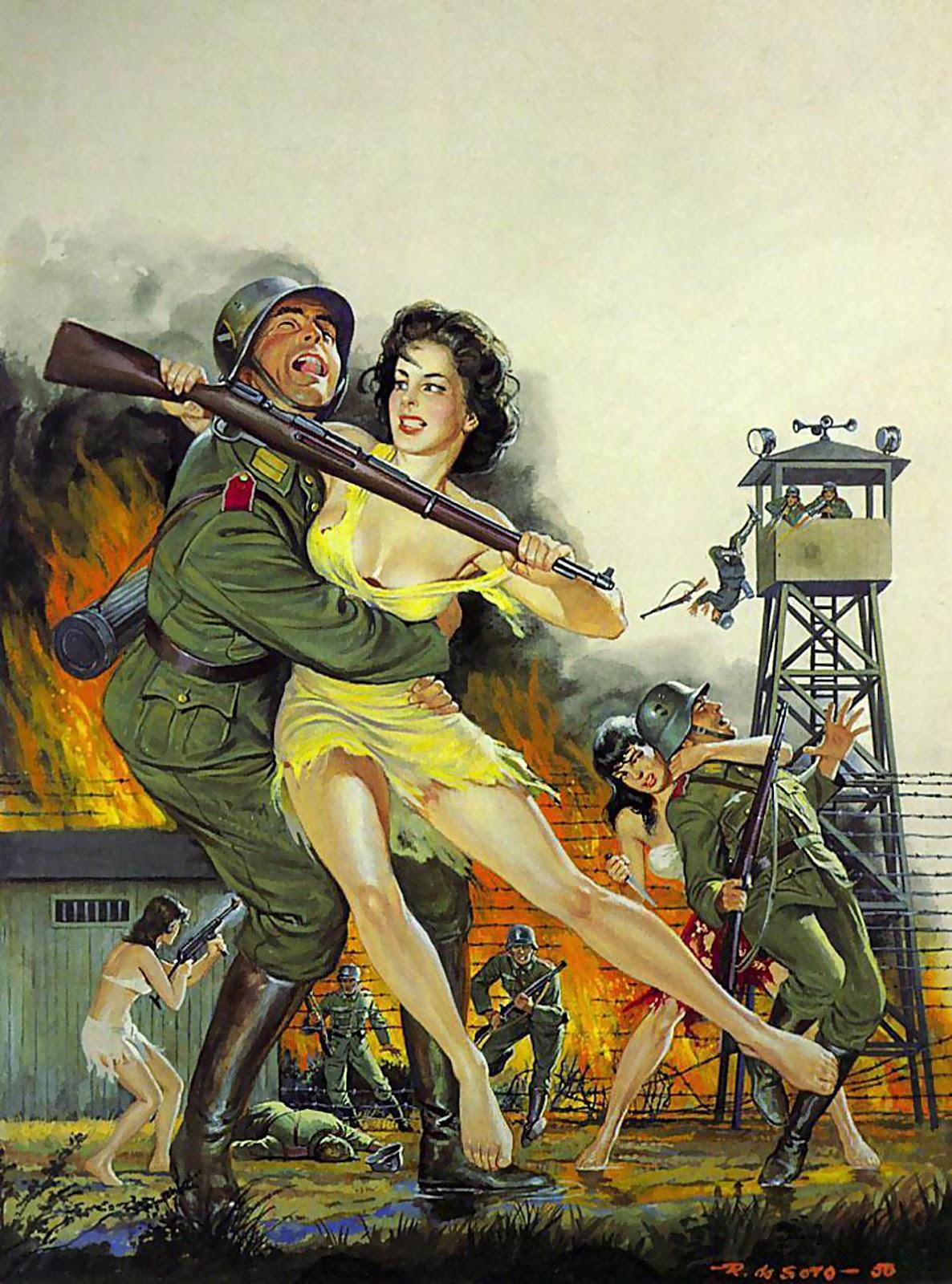 Порно издевательства фашистов