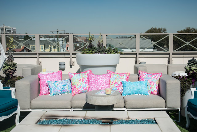 lilly pulitzer pillows indoor outdoor