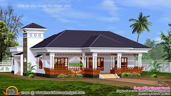 2267 square feet home in Alappuzha