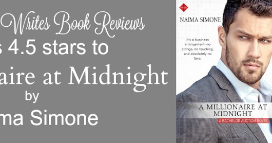 Review ~ A MILLIONAIRE AT MIDNIGHT by Naima Simone
