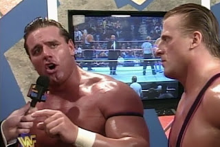 WWF / WWE - In Your House 12 - It's Time: British Bulldog & Owen Hart cut a pre-match promo
