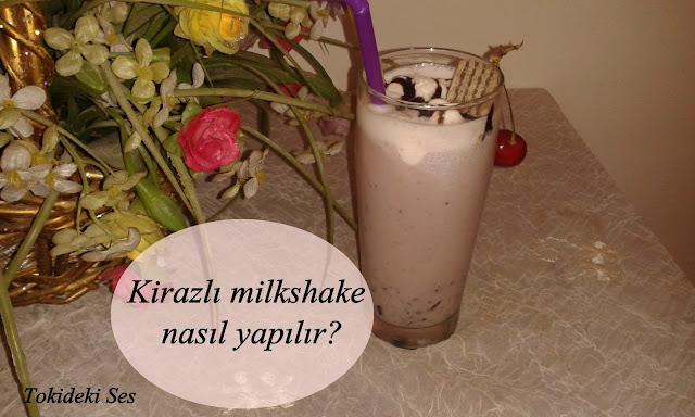 Kirazlı Milkshake Tarifi