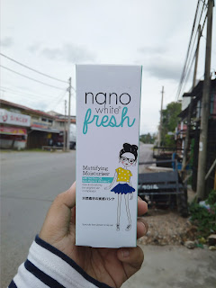 REVIEW : NANO WHITE FRESH MATTIFYING MOISTURISER
