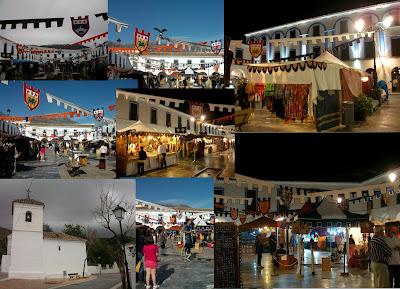 Mercado Medieval de Berja, Almería.
