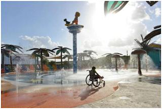 Πατέρας έφτιαξε πάρκο 34 εκατομμυρίων δολαρίων για να παίζει η ΑμεΑ κόρη του