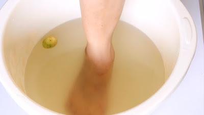 Pedicure to Whiten Dark Feet,