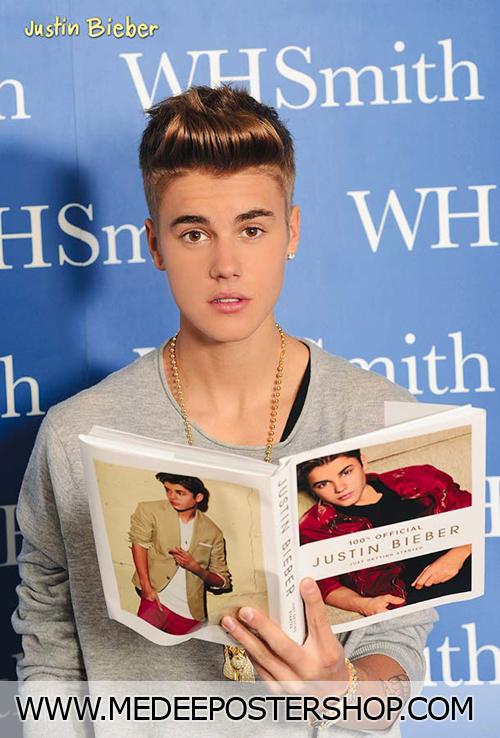 Justin Bieber Poster Book London