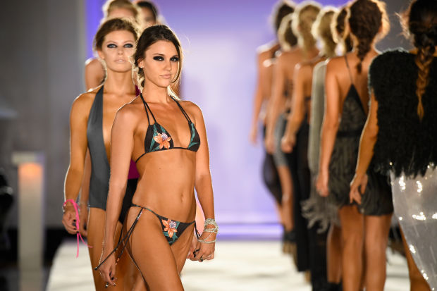 Miami Swim Week 2016 gorgeous and hot bikini models photo suits, images, wallpaper