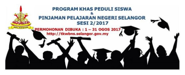 Permohonan Pinjaman Pelajaran Negeri Selangor Secara Online