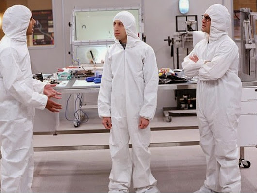 The Big Bang Theory 8x11 - The Clean Room Infiltration