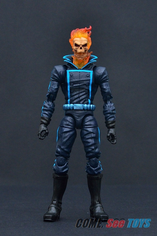 Come see toys marvel legends series ghost rider with bike the other difference is the colour of his costume its now dark blue with bright blue painted on line deco i love these colours for the more classic solutioingenieria Gallery