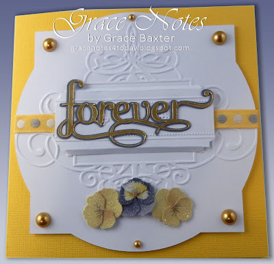 Forever. Sympathy card by Grace Baxter