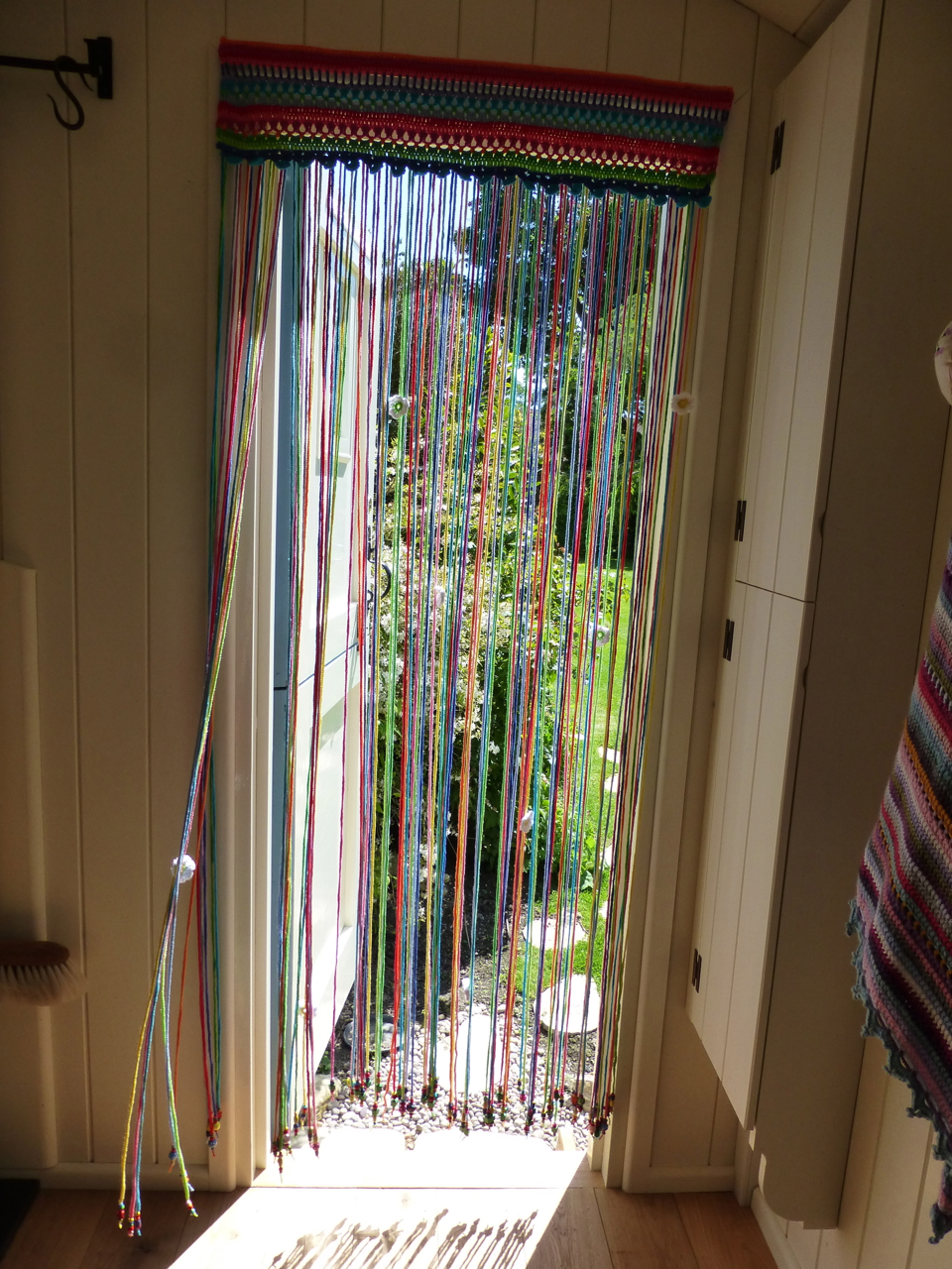 You To Find These Kinds Of Curtains In The Doorways S Sometimes This Country Not Crochet Ones Usually Just Thin Lengths Plastic