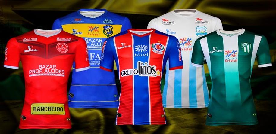 a39ed84f86613 Super Bolla lança as camisas dos clubes para o Campeonato Goiano ...