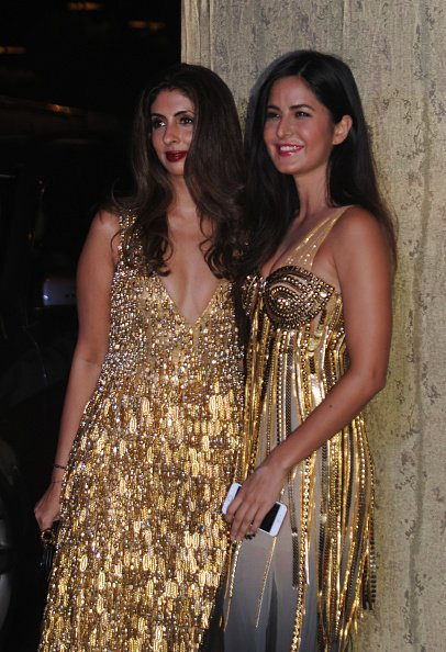 Katrina Kaif and Shweta Bachchan at Manish malhotra Party