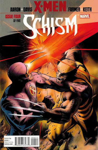 Portada de Cisma X-men Schism Vol 1 #04 Descargar Español Mega