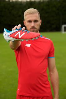 AAron Ramsey's New NBFootball Boots