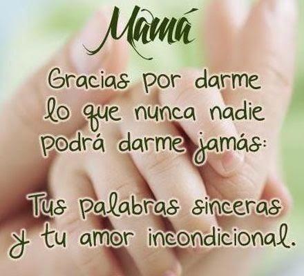 mensajes para el dia de las madres