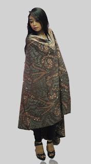 Batik Pitakonan with Natural Dyes Colors
