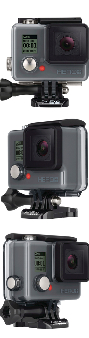 GoPro Camera HERO+ LCD HD Video Recording Camera - Black