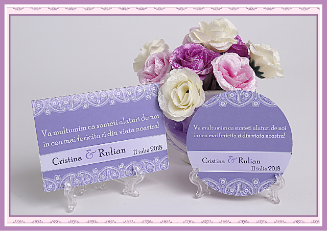 asortate nunta lila