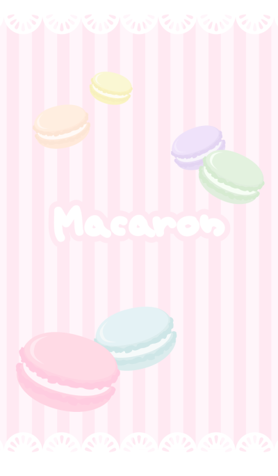 Macaron is princess of sweets