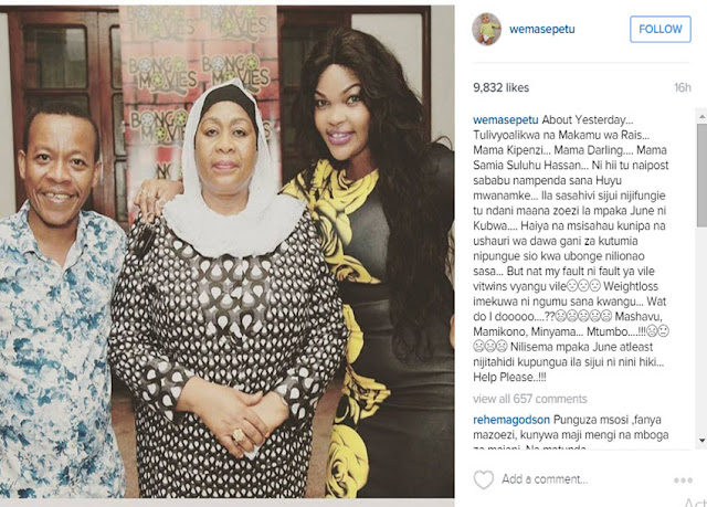 After Losing Her Twins, Wema Sepetu Is Now Struggling To Lose Weight
