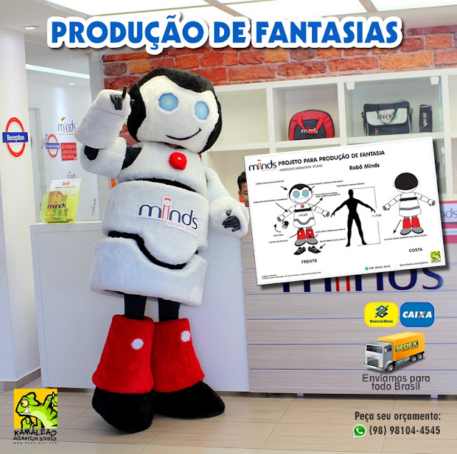 Fantasia de Brinquedo Toy Mascotes - Bonecos