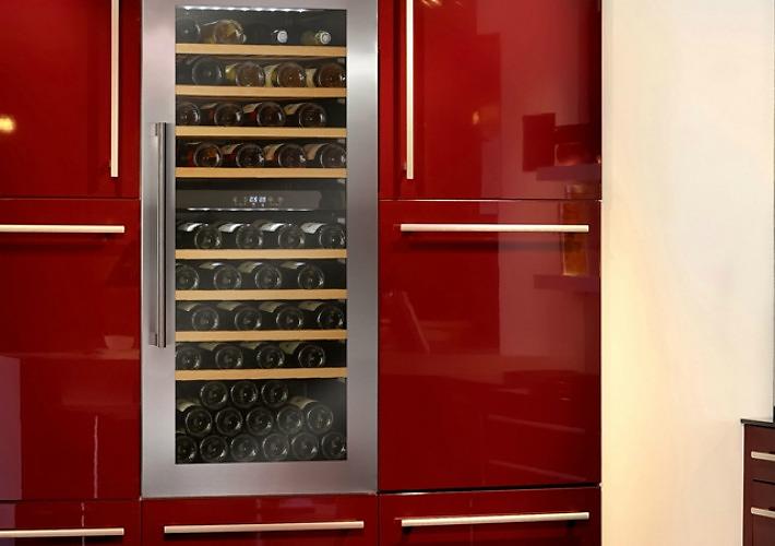 Decoraci n f cil por qu una vinoteca en la cocina - Vinoteca para casa ...