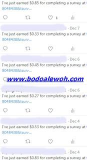 cara mendapatkan uang dari internet melalui survey