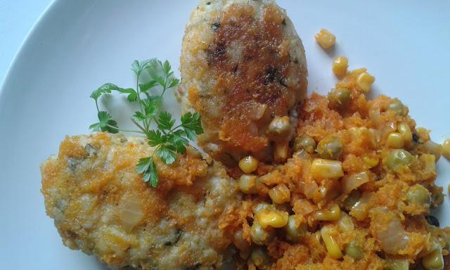 zraziki wegetariańskie z ryżu